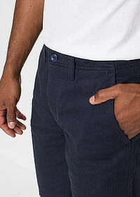 Bermudy chino Regular Fit tmavomodrá bpc bonprix collection 4