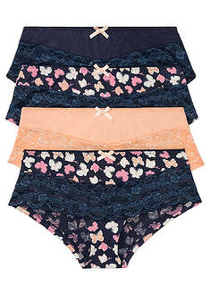 Figi panty (4 pary)-bpc bonprix collection