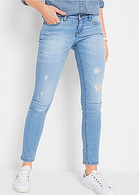 Джинсы стрейч Skinny темно-синий John Baner JEANSWEAR 1