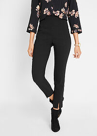 Pantaloni 7/8, modelare abdomen negru bpc bonprix collection 1