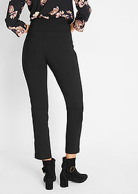 Pantaloni 7/8, modelare abdomen negru bpc bonprix collection 2