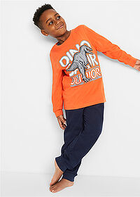 Pijama (set/2piese) oranj-marin bpc bonprix collection 1