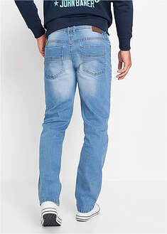 Dżinsy ze stretchem Regular Fit Straight ( 2 pary) John Baner JEANSWEAR 54