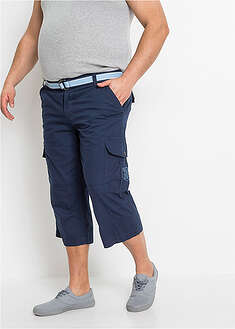 Pantaloni 3/4 cu curea, Loose Fit-bpc bonprix collection