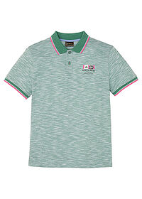 Shirt polo zielony melanż bpc selection 0