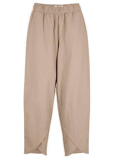 Pantaloni din in, loose fit bpc bonprix collection 0