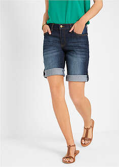 Short denim cu confort-stretch-John Baner JEANSWEAR
