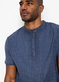 Tricou cu in indigo bpc bonprix collection 4