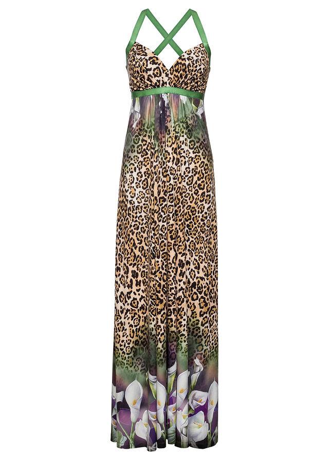 Letné šaty so štrasovými kamienkami