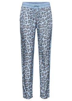 Pantaloni cu print animal-BODYFLIRT