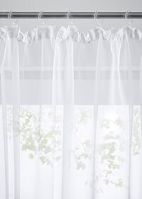 Stor uni transparent alb bpc living bonprix collection 2