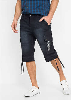 Bermudy dżinsowe ze stretchem Regular Fit John Baner JEANSWEAR 25