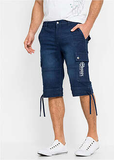 Bermudy dżinsowe ze stretchem Regular Fit John Baner JEANSWEAR 50