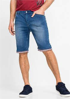 Bermude blugi, regular fit-John Baner JEANSWEAR