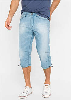 Regular Fit 3/4-es farmer nyári denimből John Baner JEANSWEAR 30