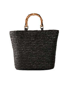 Torba słomkowa shopper-bpc bonprix collection