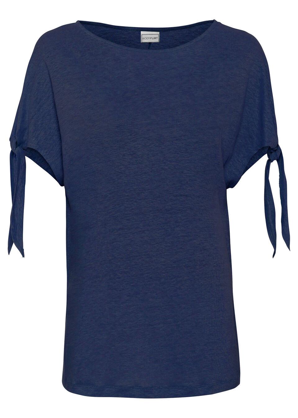 Tričko, plátené, boxy bonprix