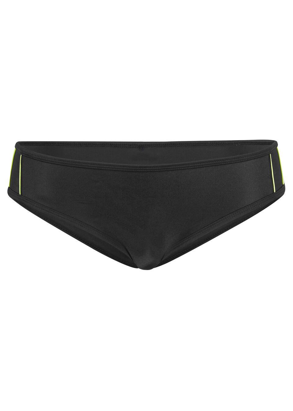Figi bikini bonprix czarny
