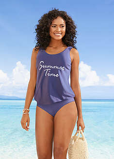 Costum de baie Tankini, 2 piese bpc bonprix collection 42