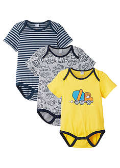 Body scurt bebe, eco (3buc.) bpc bonprix collection 5