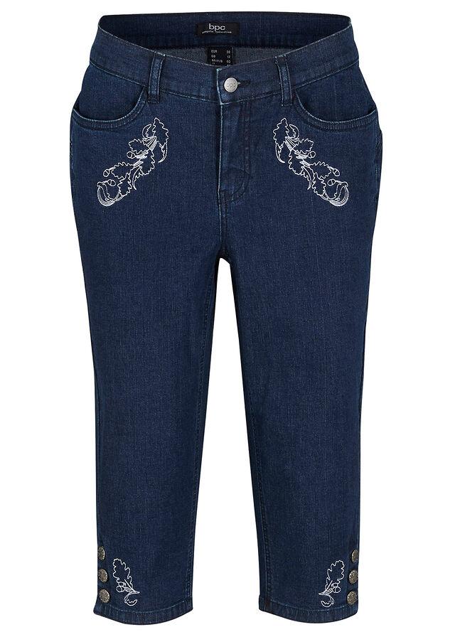 Krojové džínsy so strečom