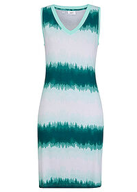 Rochie jerse turcoaz pastel batic bpc bonprix collection 0