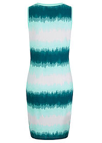 Rochie jerse turcoaz pastel batic bpc bonprix collection 1