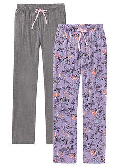 Pantaloni pijama (2buc/pac)-bpc bonprix collection