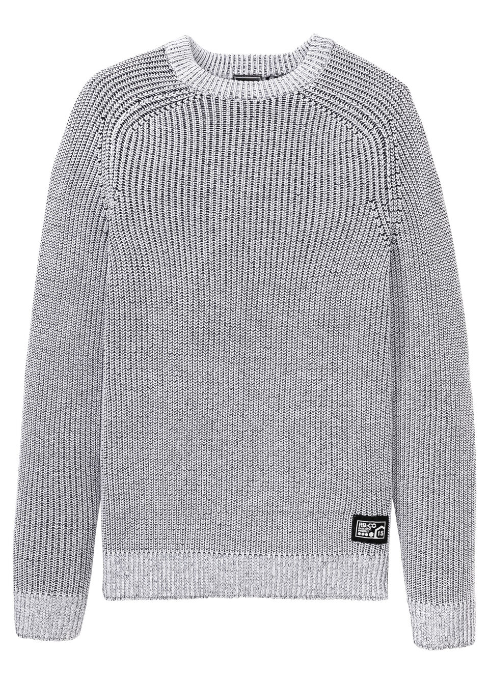 Пуловер с круглым вырезом горловины от bonprix