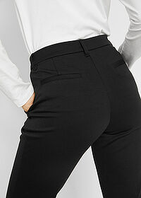"Pantaloni ""Punto di Roma"" negru bpc bonprix collection 5"