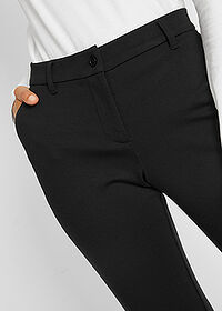 "Pantaloni ""Punto di Roma"" negru bpc bonprix collection 4"