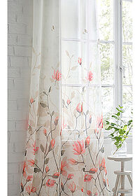 Perdea cu print floral (1buc/pac) crem/roz pal bpc living bonprix collection 4