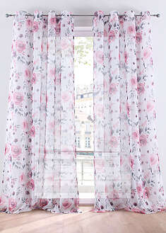 Perdea cu print floral (1buc) bpc living bonprix collection 3