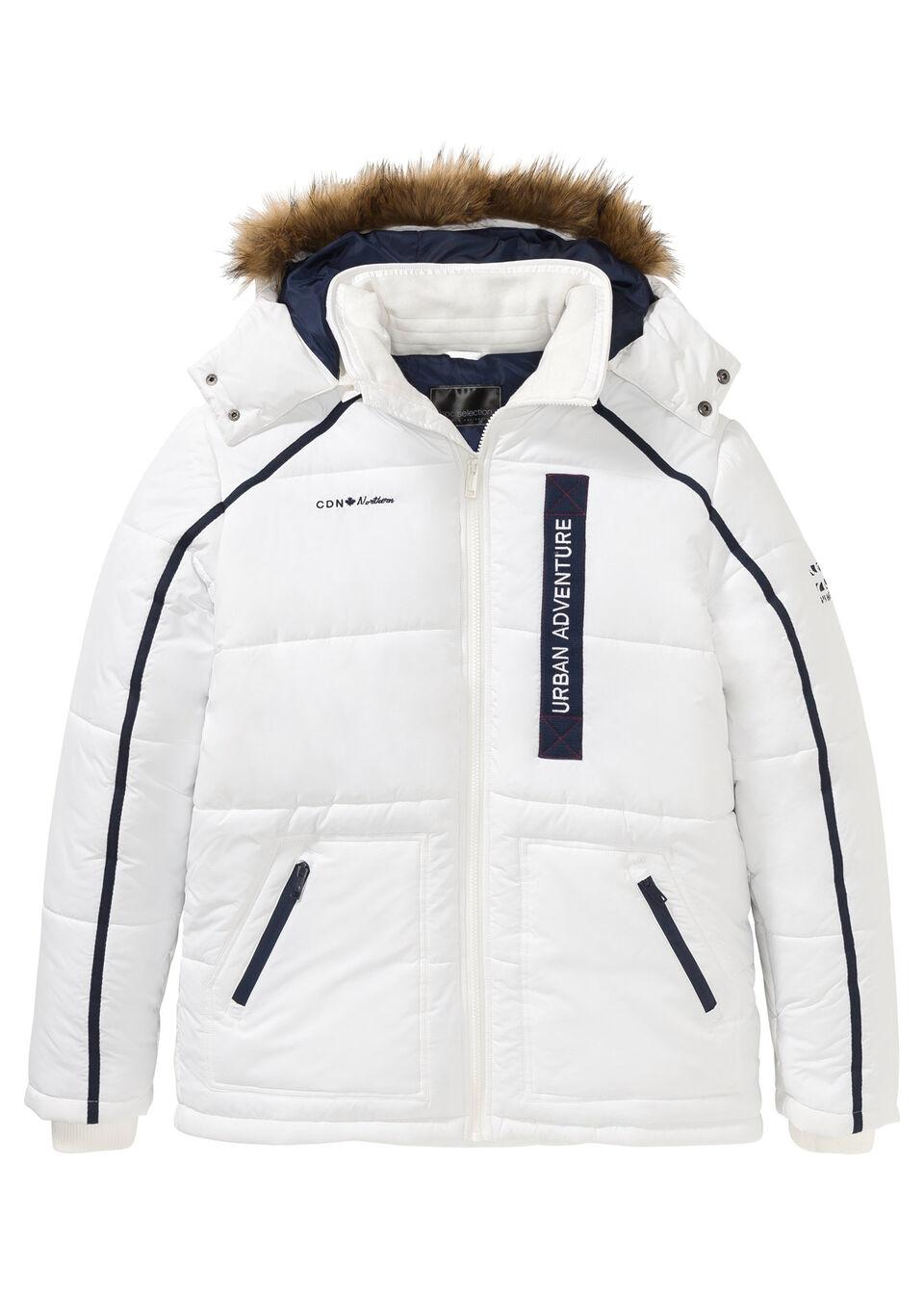 Куртка стёганая с капюшоном от bonprix
