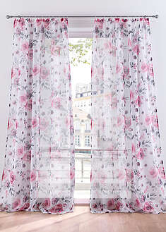 Perdea cu print floral (1buc) bpc living bonprix collection 5