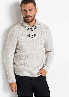 Sweter w warkocze bpc bonprix collection 21