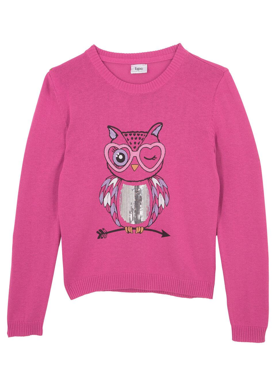 Пуловер для девочки от bonprix
