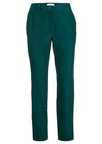 Pantaloni din Lyocell TENCEL™ verde închis bpc bonprix collection 0