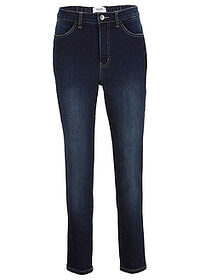 Blugi stretch Maite Kelly denim închis uzat bpc bonprix collection 0