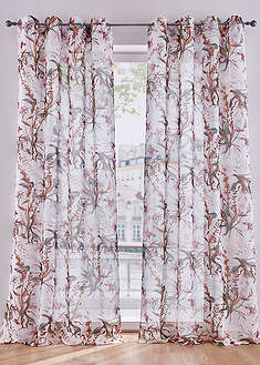 Perdea florală (1buc/pac) bpc living bonprix collection 30