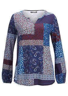 Bluză cu aspect patchwork, design Maite Kelly bpc bonprix collection 2