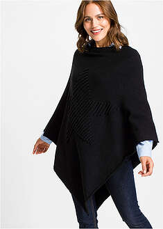 Poncho cu stea deco bpc bonprix collection 7