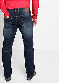Dżinsy ze stretchem Regular Fit Straight ciemny denim John Baner JEANSWEAR 2
