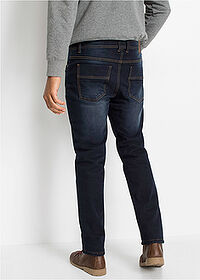 Thermo sztreccsnadrág Regular Fit Straight sötét denim John Baner JEANSWEAR 2