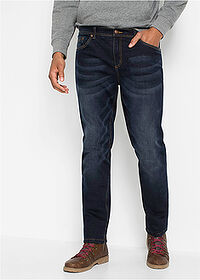 Thermo sztreccsnadrág Regular Fit Straight sötét denim John Baner JEANSWEAR 1