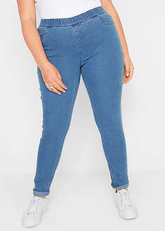 Blugi jeggings cu soft-stretch John Baner JEANSWEAR 24