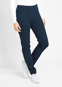 Pantaloni treggings bleumarin bpc bonprix collection 1