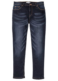 Thermo sztreccsnadrág Regular Fit Straight sötét denim John Baner JEANSWEAR 0