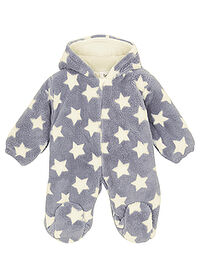Overall fleece bebe gri-crem bpc bonprix collection 0