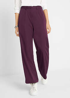 Pantaloni stretch, croi larg bpc bonprix collection 49